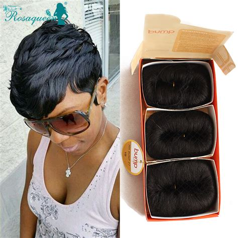 bump 27 piece hairstyles human hair short bump weave brazilian virgin hair