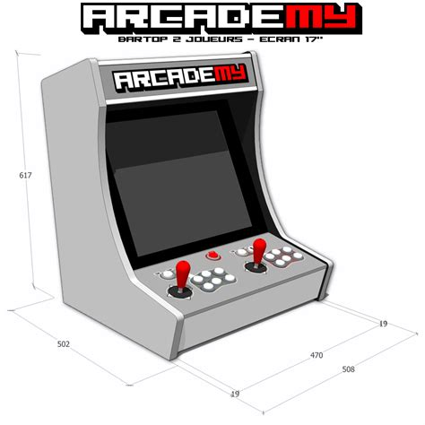 Bar Top Arcade by D 233 But De La Conception Du Kit Pour La Borne D Arcade