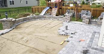 Installing A Paver Patio Concrete Pavers And Paver Infromation The Concrete Network