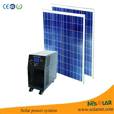 Cost Of Solar Panels For Home by 1000w 1kw Home Solar Panel Kit Pv Solar Panel Price