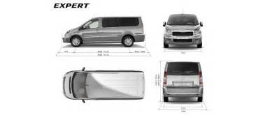 Peugeot Tepee Dimensions Peugeot Expert Dimensioni