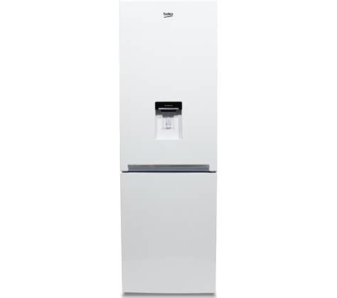 Water Dispenser Fridge Freezer beko cxfg1685dw fridge freezer white free water dispenser 322 litres ebay