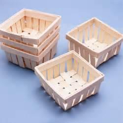 Wedding Favor Baskets by Mini Wooden Basket Favor 6 Pcs Unique Wedding Favor