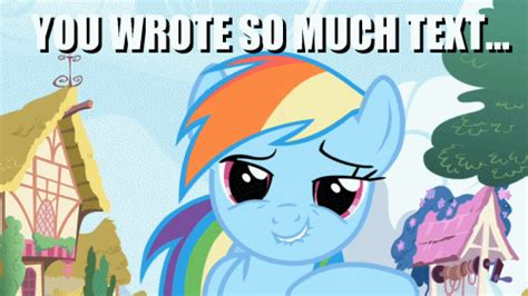 Mlp Rainbow Dash Meme - confession time do you read long posts weddingbee