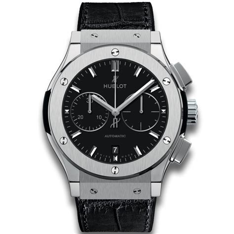 hublot chronograph titanium classic fusion watches