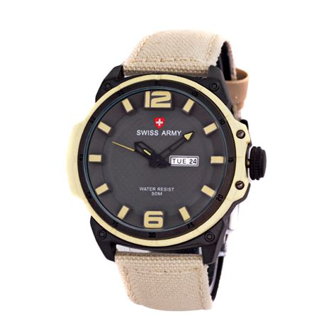 Jam Tangan Swiss Army Pria jual swiss army sa4081 jam tangan sport pria
