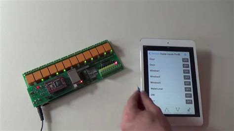 Access Relay Module by How To Access Daenetip3 12 Relay Module From Via Dae