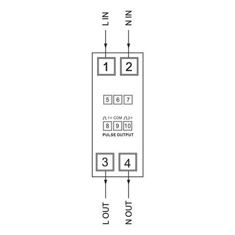 single phase kwh meter wiring diagram 37 wiring diagram
