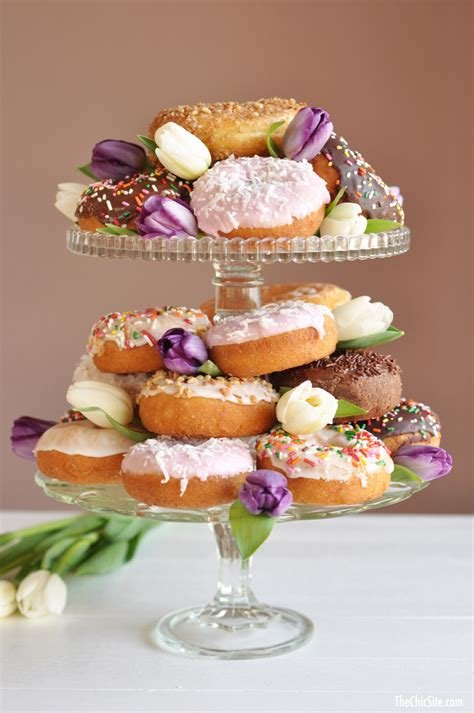 Places That Make Wedding Cakes by Doughnut Cake The Chic Site