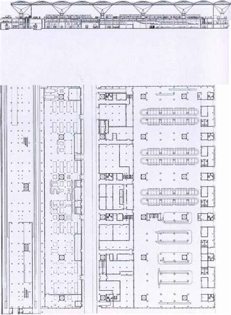 stansted airport floor plan terminal for stansted airport housing project