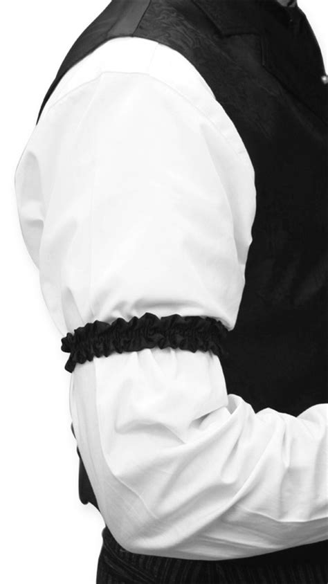 sleeve garter how to handle shirt sleeves that are just too long