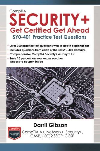 Comptia Security Sy0 401 In Depth comptia security get certified get ahead sy0 401