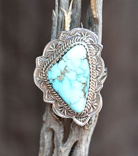 burnham turquoise sterling silver ring turquoise butterfly