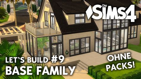 Sims 4 Wintergarten by Die Sims 4 Haus Bauen Ohne Packs Base Family 9
