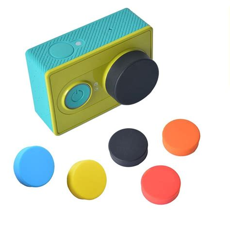 Silicon For Xiaomi Yi Blue tmc silicone lens cap for xiaomi yi hr135 blue
