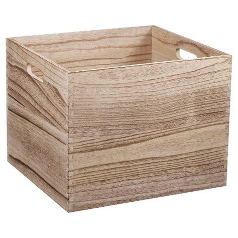 target crates wood milk crate large pillowfort target
