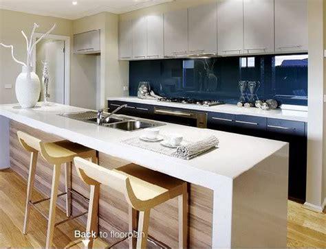 Kitchen Bench And Cupboards Wood Look Splashback Search Kitchen
