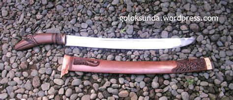 Hambalan Besi senjata tradisional golok sunda