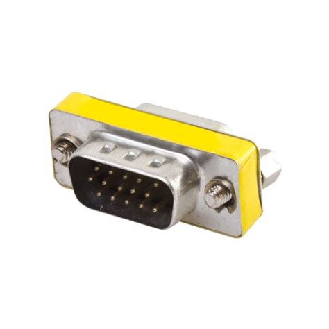 Murah Gender Vga F Vga F vga svga 15 pin to m f coupler gender changer adapter connecter ebay
