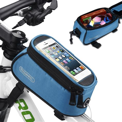 Bike Phone Holder By Paceshop22 roswheel cycling bicycle bike frame pannier front bag
