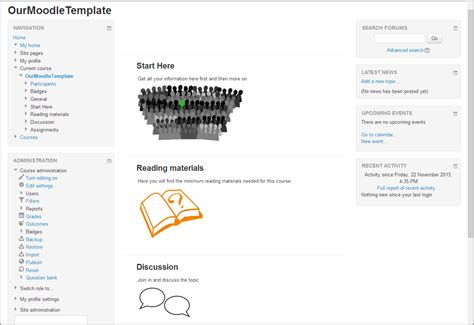 creating course templates in moodle 2 6 moodle blog