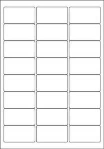 24 Label Template white a4 labels 24 per sheet 500 sheets per box from