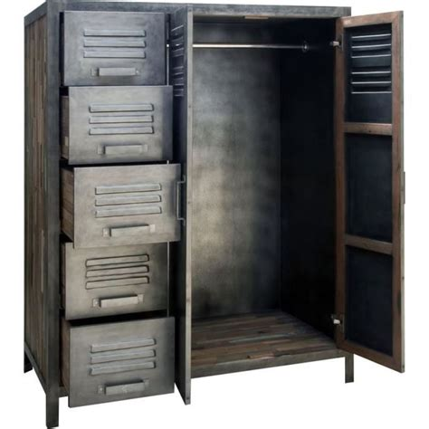 Armoire Metal by Armoire M 233 Tal 110 X 145 Cm Besi Inwood Achat Vente
