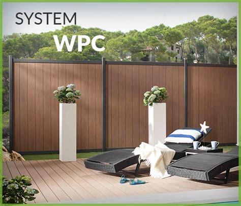 Gartenzaun Sichtschutz Modern Holz Kunstrasen Garten