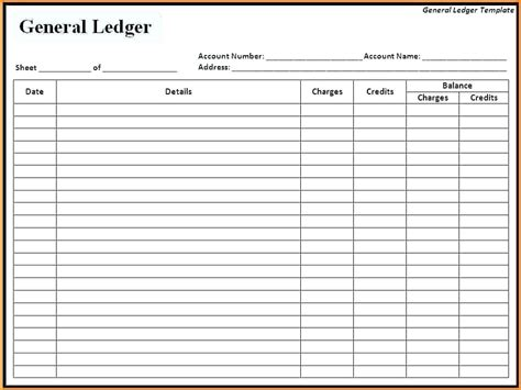 Excel Ledger Templates Ereads Club Excel Ledger Template