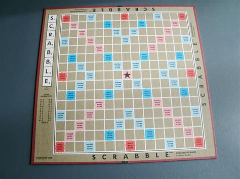 antique scrabble board scrabble board vintage 1990 by papercreationsbydeb on