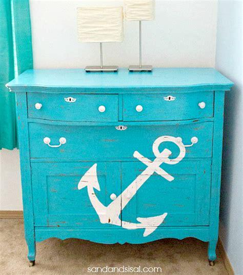 22 ideas to makeover a dresser coastal nautical