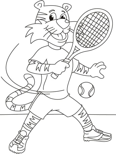 imagenes de niños jugando tenis para colorear dibujos para pintar de tenis dibujos para colorear de