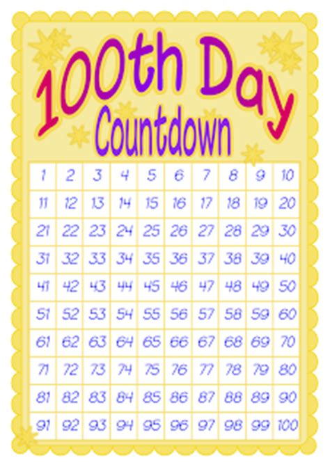 countdown chart template weight loss countdown calendar printable calendar