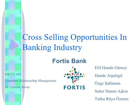 selling bank products cross selling opportunities in banking industry