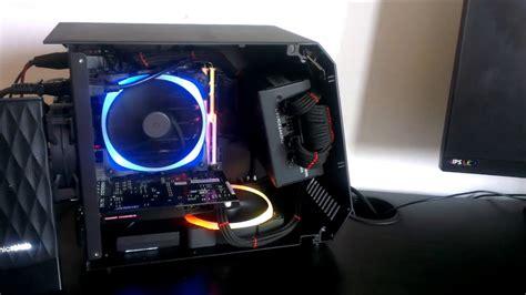 Id Cooling Frostflow 120l White Edition rgb ultimate mini itx build skylake nzxt hue nzxt aer rgb id cooling t60 sfx
