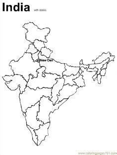 india printable blank map  delhi royalty