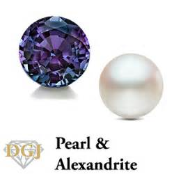 what is june birthstone color june s birthstones pearl and alexandrite