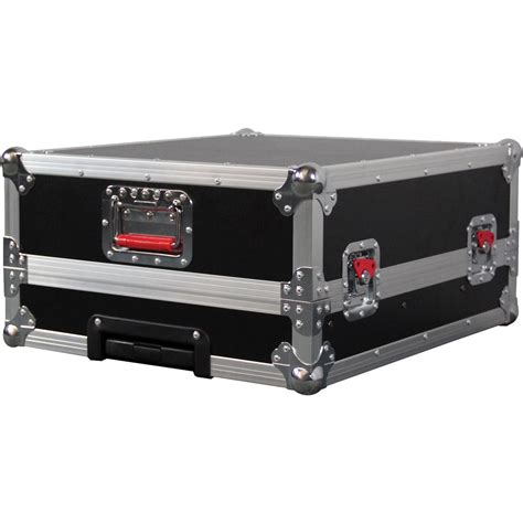 Mixer Black Widow 16 Channel gator cases ata wood flight for soundcraft g tour