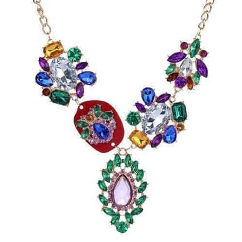 colorful statement necklace colorful statement necklace aphrodite store