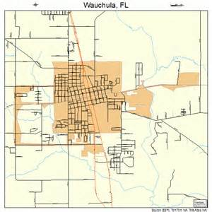 wauchula florida map 1275375