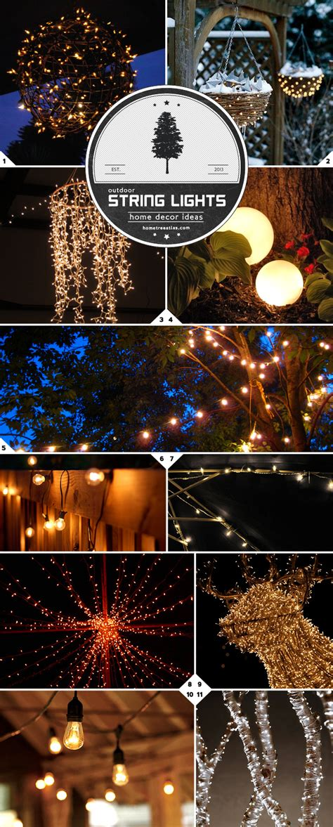 string light ideas 26 amazing decorating with outdoor string lights pixelmari