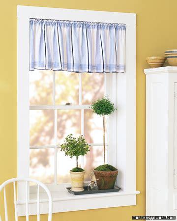 martha stewart kitchen curtains handkerchief valance step by step diy craft how to s
