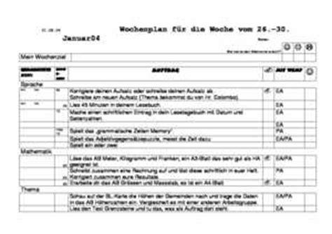 Vorlage Word Wochenplan Prepolino Ch Diverses Vorbereitungshilfen Erweiterte Lehrformen