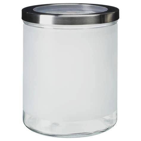 ikea vorratsdosen glas ikea vorratsdose droppar glas edelstahl 5 gr 246 223 en ebay