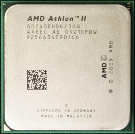 Amd Athlon Ii X2 245 Dan Fan amd athlon ii x2 245 vs 240e dissected