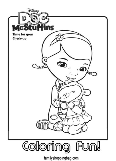 doc mcstuffins birthday coloring pages doc mcstuffins coloring page doc mcstuffins pinterest