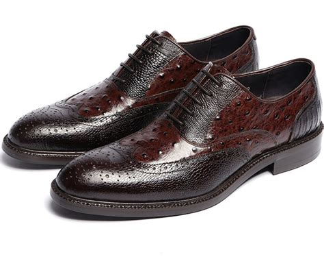 leather sole oxfords mens shoes cow leather sole brown black mens oxfords shoes