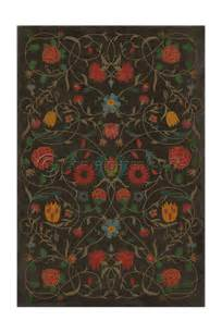 masquerade vinyl floor cloth cottage home 174