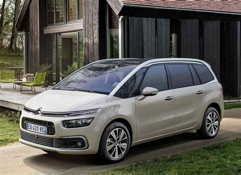 2019 Citroen C4 Picasso by New 2018 2019 Citroen C4 Picasso The Restyling Of The