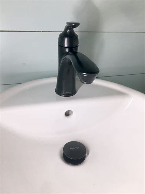Pfister Faucet Reviews by New Powder Room And Pfister Faucet Review
